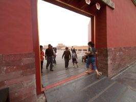 Portal In The Forbidden City by vanfoto