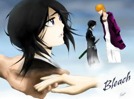 Bleach: (Ichigo and Rukia) Goodbye by SaraDesigner