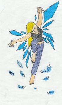Cam - Flying_colored by CameronIrving