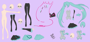 Miku Base by black-cat-lover-mew