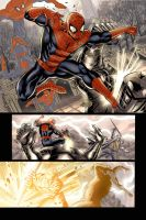 spiderman e thor sample colors by fabiojansen