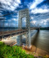 George Washington Bridge by Inno68