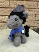 Custom Order Sherlock Pony by MilesofCrochet