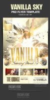 Vanilla Sky PSD Flyer Template by ImperialFlyers