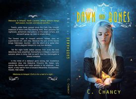 Book cover - A Net of Dawn and Bones by C. Chancy by CathleenTarawhiti