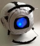 Wheatley Plushie lights up this time! by WatashiWaShinigami