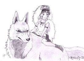 Princess Mononoke by Bastet-mrr