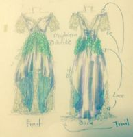 Dress ref commission (Magdalena) by Yandere-Vippaloid-09