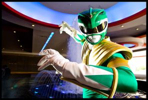 Mighty Morphin Green Ranger by Elemental-Sight