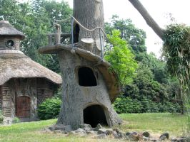 Various 40 -fantasy house tree by Momotte2stocks