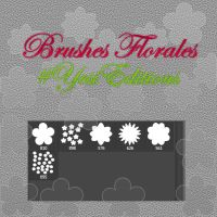 Brushes Florales by yssietwilighter