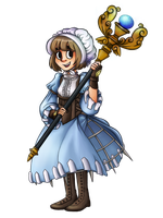 Fire Emblem Collab - Cleric Wally by such-a-wally