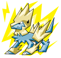 Manectric by turb0s0ic333