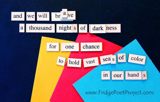The Daily Magnet #231 by FridgePoetProject