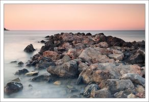 Sunset and the sea iii by Rajmund67
