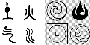 Avatar Symbols by piandaoist