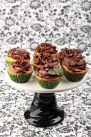 Chocolate mint cupcakes by kupenska