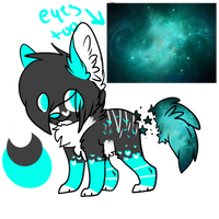 Galaxy-pup Rare auction by xXmocha-sundaeXx