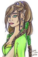 Fey Queen by lilith-darkmoon