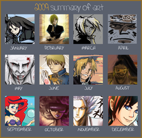 The Best 2009 Art Summary 8D by kanazuchi92