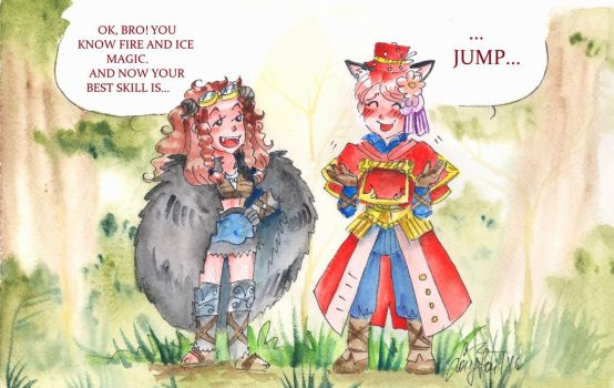 ::Tree of Savior::Best skill::Jump by ShooLongtail