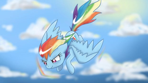 Rainbow Dash by Bonsia-Lucky
