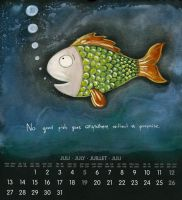 July fish is who I am by Adnil