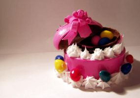 Miniature Easter Cake by ChocolateDecadence