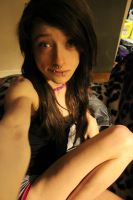 Old Pic Me... With Out Makeup?!? lol by SaraMonsterKitty