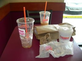 Dunkin Donuts Just Can't Have Enough by R1cc4