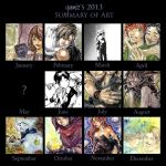 Summary Art Yamiz2013 by Royal-Puck