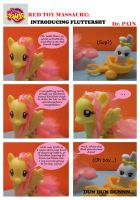 Red Toy Massacre Featuring Fluttershy by TheShapelessMold