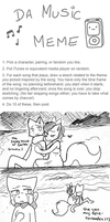 DA Music Meme - With Cats. by taeshilh