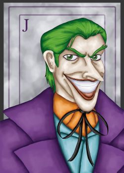 The Joker by comicalclare