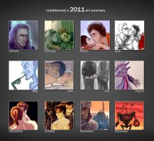 2011 art summary by maXKennedy
