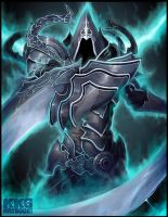 Malthael for KKG Artbook by DioMahesa