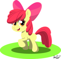 MLP: One Young Apple by DatPonyPL
