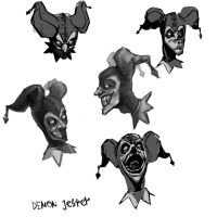 Shaco Doodles by Vespertellino
