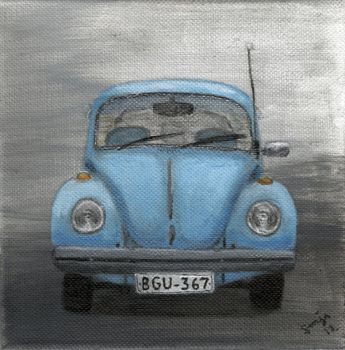Beetle painting by VWStiti