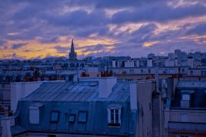Paris's dawn by Lutheass