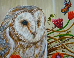 Owl Detail by supertotallyfresh