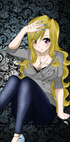 Another picture of my blonde monster x'D by Furrashu-no-Hikari