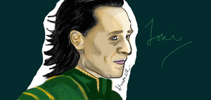 First Gift- Loki by Thehighwaygirl