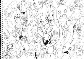 Page Fulla Rabbids by GagaMan