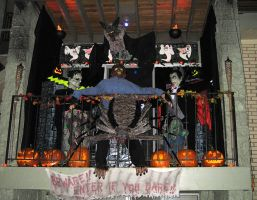Halloween 2009 Patio Display 3 by EVysther