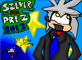 Silver for President by Poti05