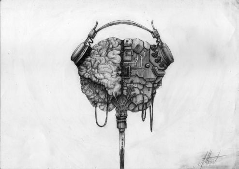 Asthenot No brain without sound by Asthenot