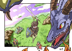 Dragon Quest IX by Flyingdagger