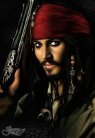 jack  sparrow by yrastilo