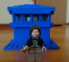 Custom Made Eighth Doctor Lego by PCamenzind